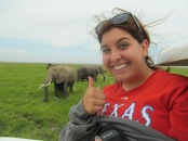 Seeing elephants at Amboselli National Park