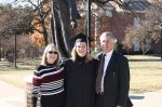 TWU Commencement with parents
