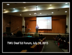 Deaf Ed forum 2